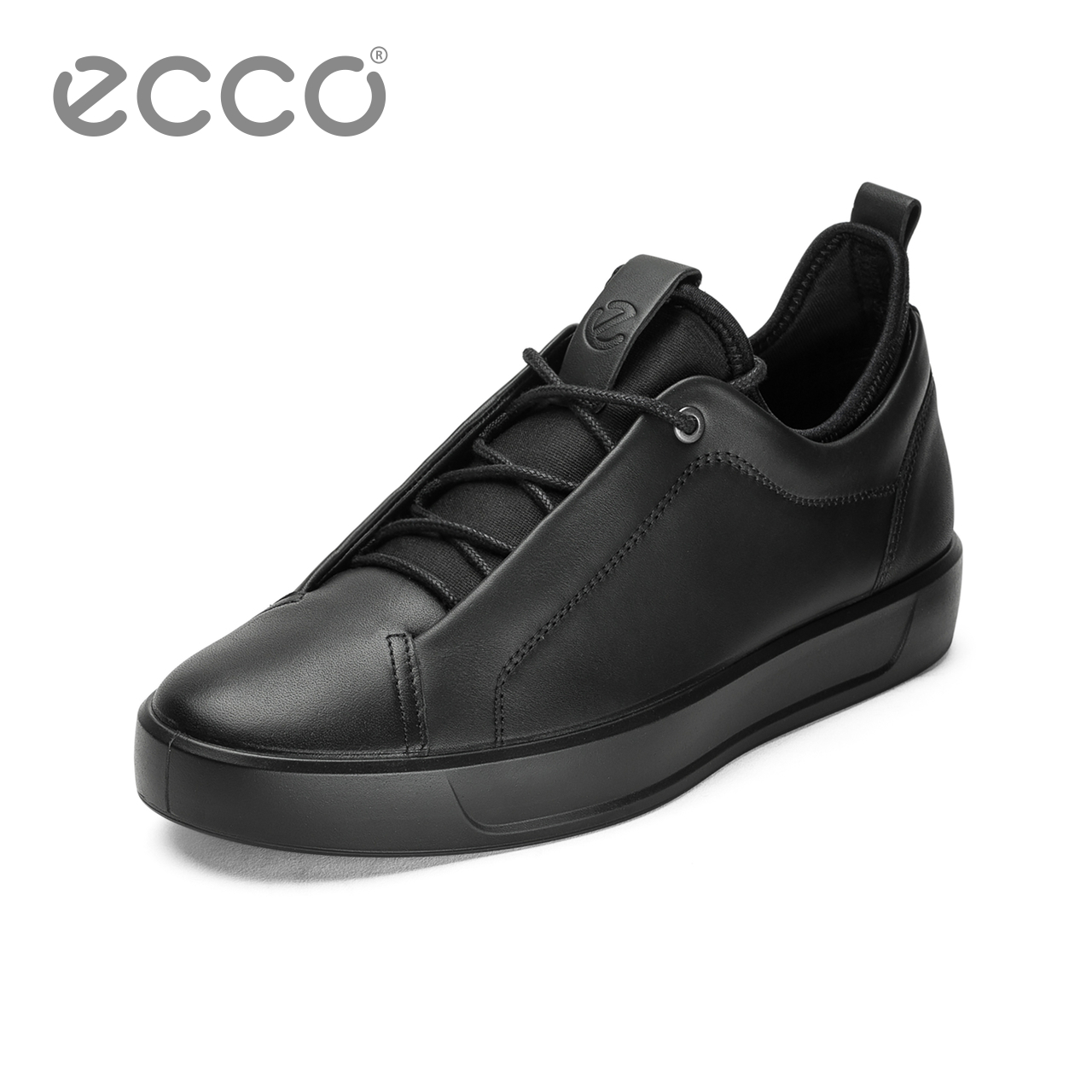 ECCO爱步2018系带运动潮鞋 透气厚底户外休闲男鞋 柔酷8号440854