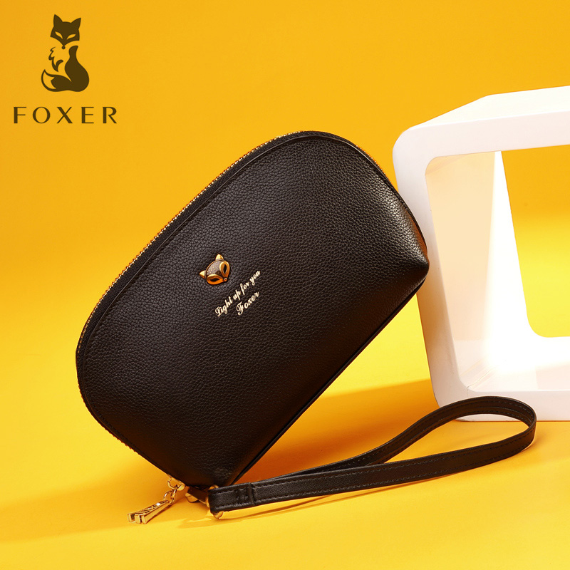 Golden Fox Dinner will take the bag female 2019 new Tide bag leather fashion hundred celebrities can put mobile phone handbag