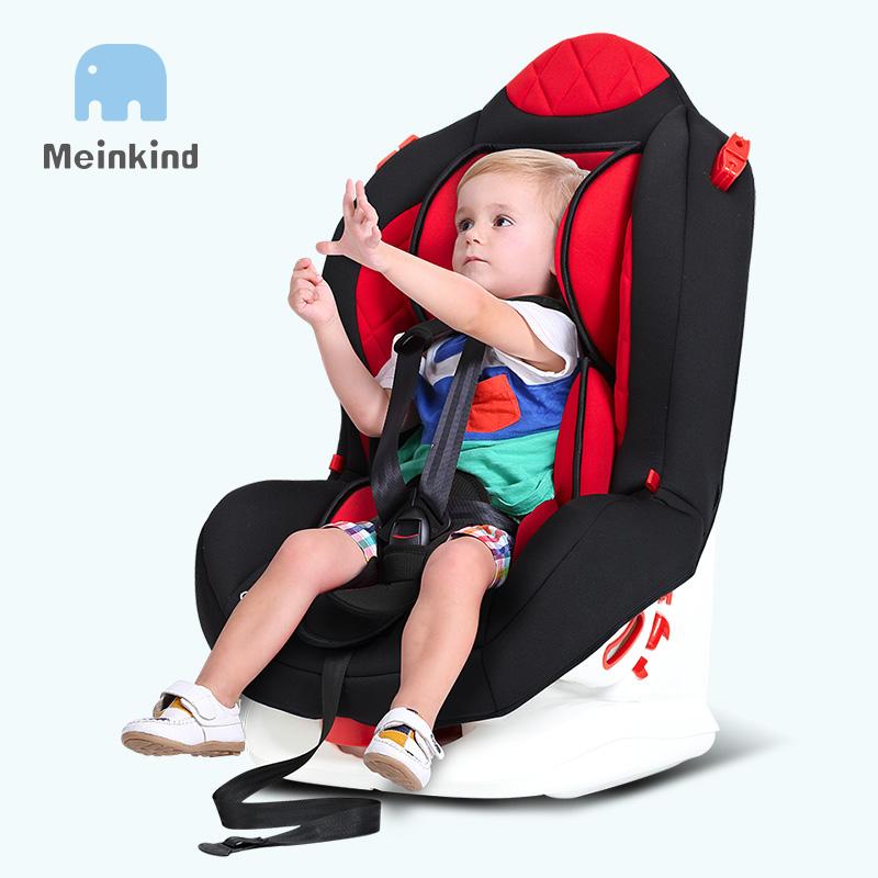 麦凯 儿童安全座椅汽车用可坐宝宝婴儿坐躺式坐椅9个月-6岁