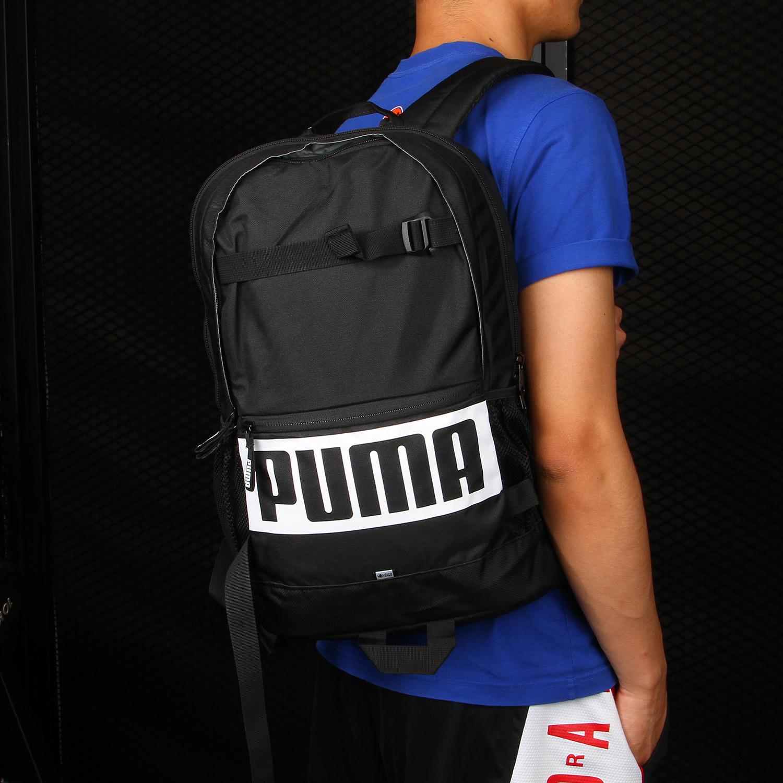 Puma/彪马正品男女包2018新款学生书包运动休闲双肩背包  074706
