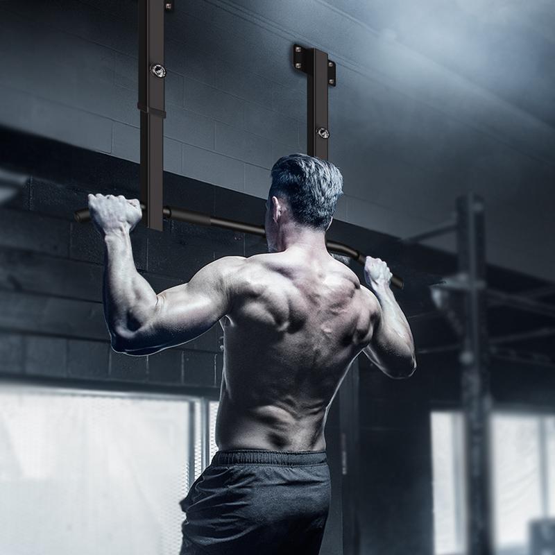 引体向上器墙体单杠家用室内墙上单杠双杠沙袋架子多功能健身器材