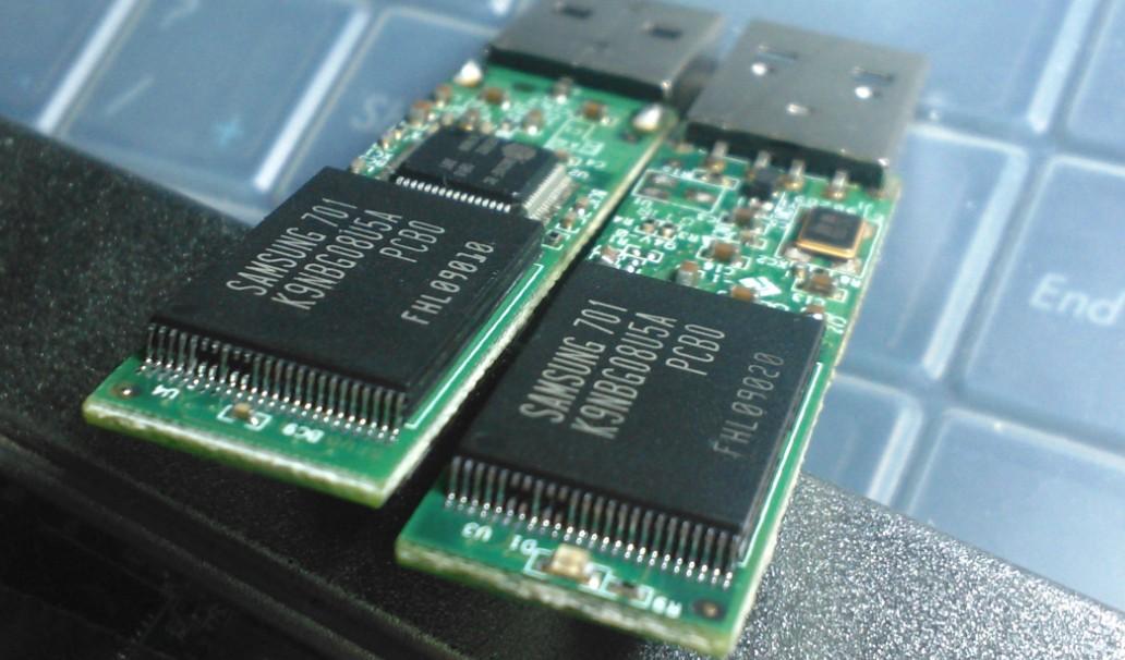 USB накопитель, флешка   SM324 8G SLC K9NBG08U5A
