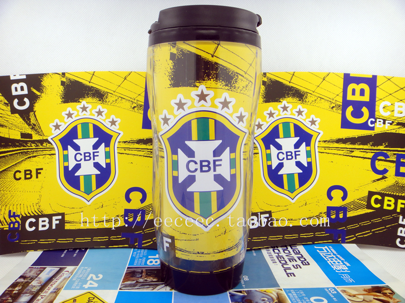 2018 World Cup Brazil National Team Football Fan Collection Gift Cup 350ML Cup