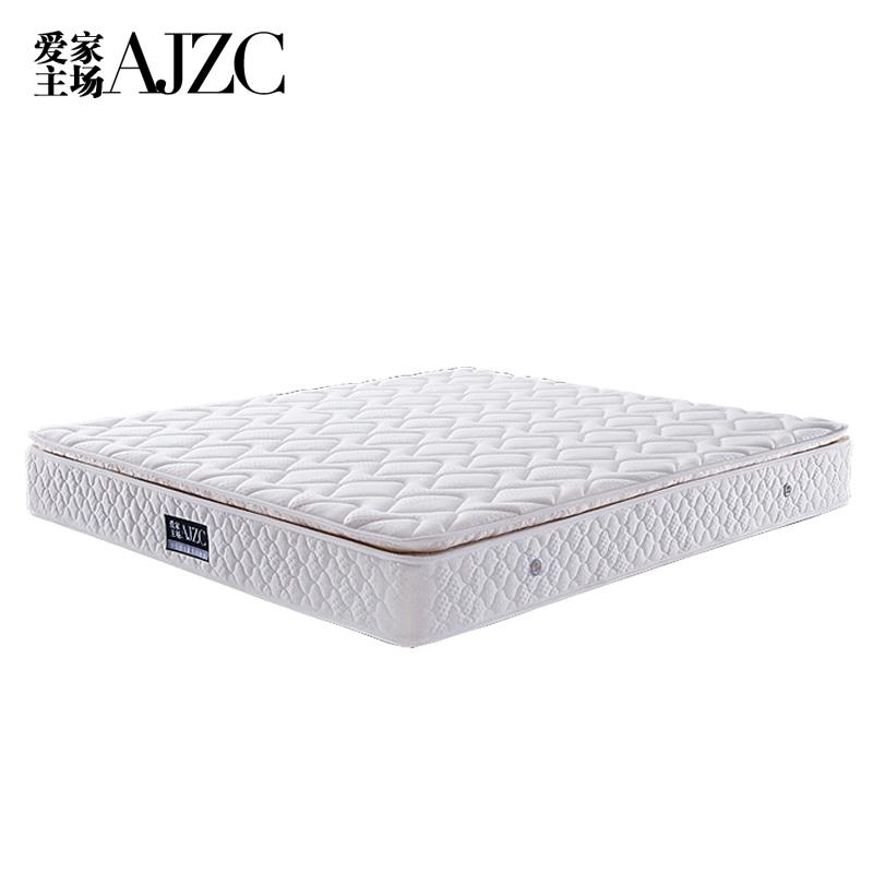 爱家主场床垫天然乳胶垫 全椰棕 弹簧床垫 可拆洗床垫180x200