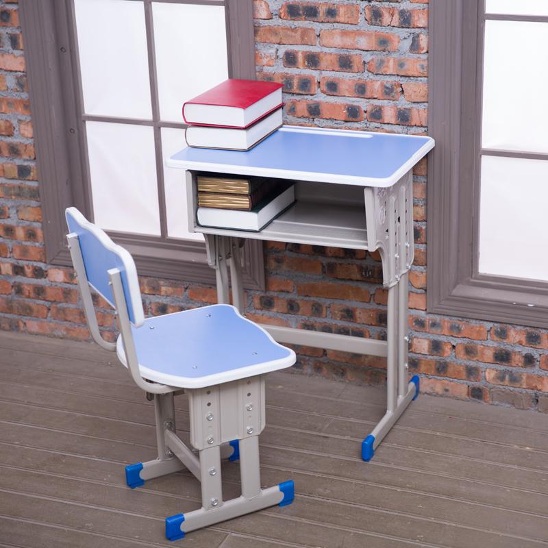 2平米 单人中小学生课桌椅写字桌家用小课桌培训班辅导班书桌升降学习桌