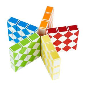儿童百变魔尺24段36/48/72节小学生益智玩具智力异形大号魔方套装