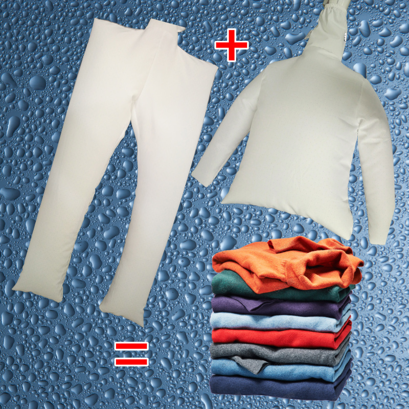 Portable drying suit Quick dryer baking airbag folding dryer travel travel dryer household Small