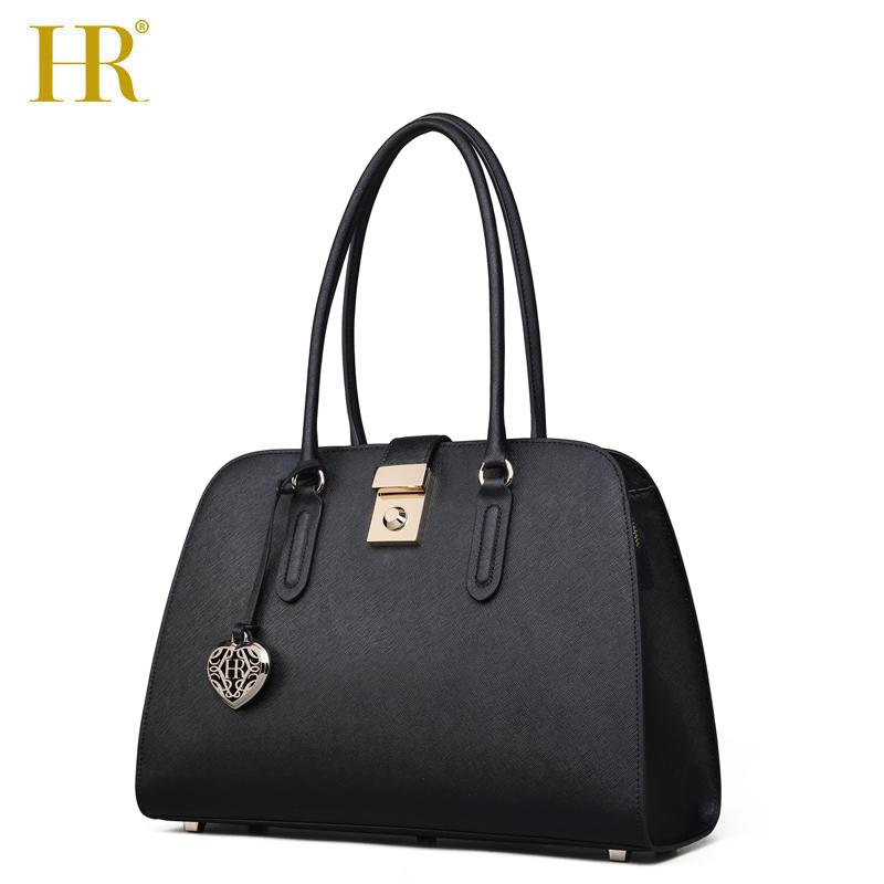 HR赫莲娜女士包包2018新款单肩包女大包大容量贝壳包手挽手提包