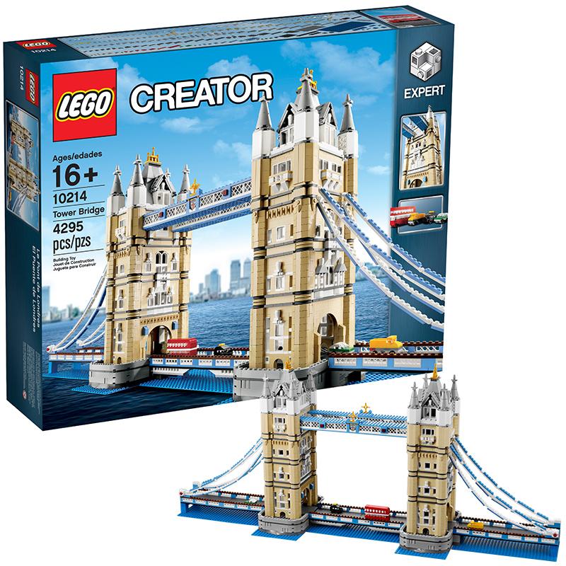 乐高创意百变高手系列 10214 伦敦塔桥 LEGO 积木玩具收藏礼物