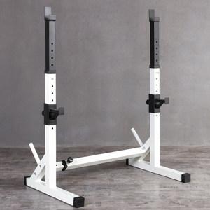 深蹲架可调节杠铃架举重床 卧推架家用健身器材套举重架哑铃凳