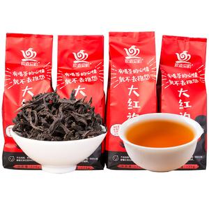 买1送3武夷山大红袍新茶浓香型武夷正岩肉桂茶秋茶乌龙茶散装袋装