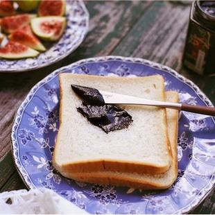 山味集 蜂蜜黑芝麻酱现磨手工石磨黑芝麻糊孕妇调料酱