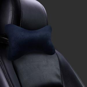 汽车头枕腰靠车用枕头座椅靠枕颈枕记忆棉司机护颈枕一对车内用品