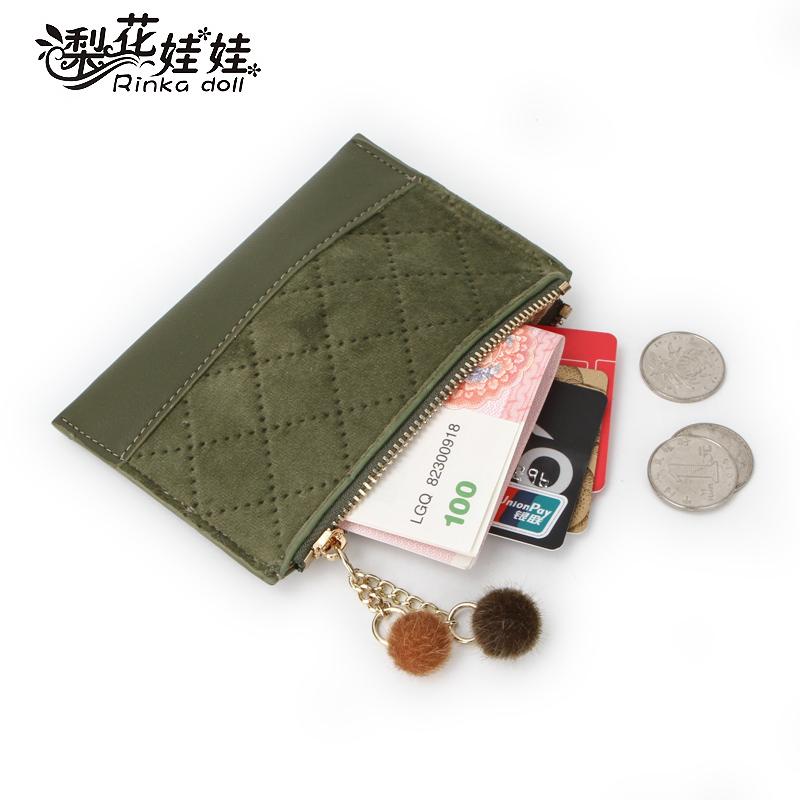 小钱包零钱包女2018新款短款学生韩版可爱卡包女式小巧超薄一体包