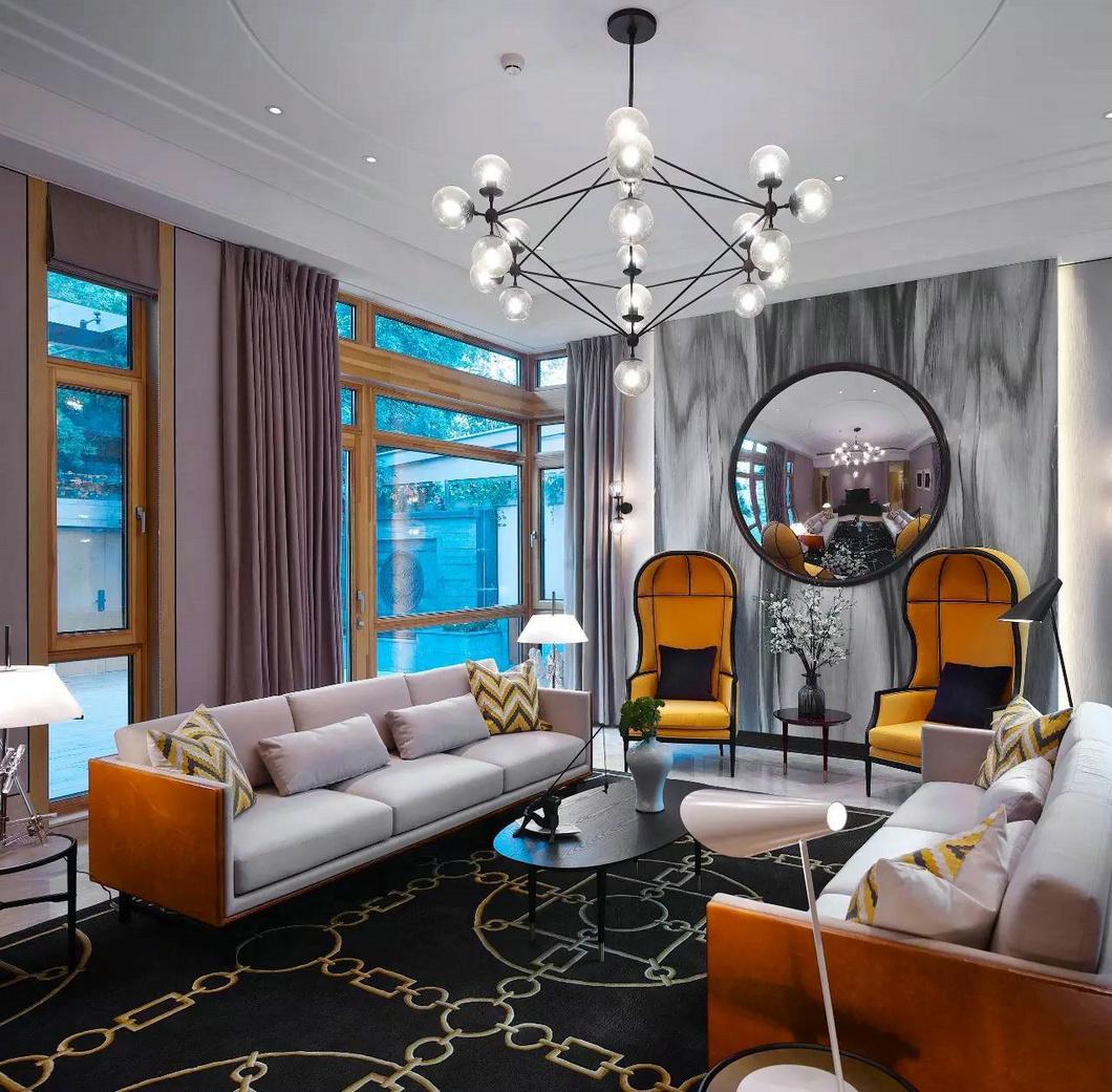 现代风格也可以很奢侈,打造不同的风格设计!|客厅
