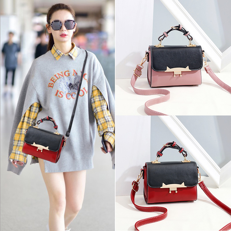 Summer on the new hit color small square bag female 2018 new tide fashion Korean version of the wild oblique cross ins Super fire fairy 8