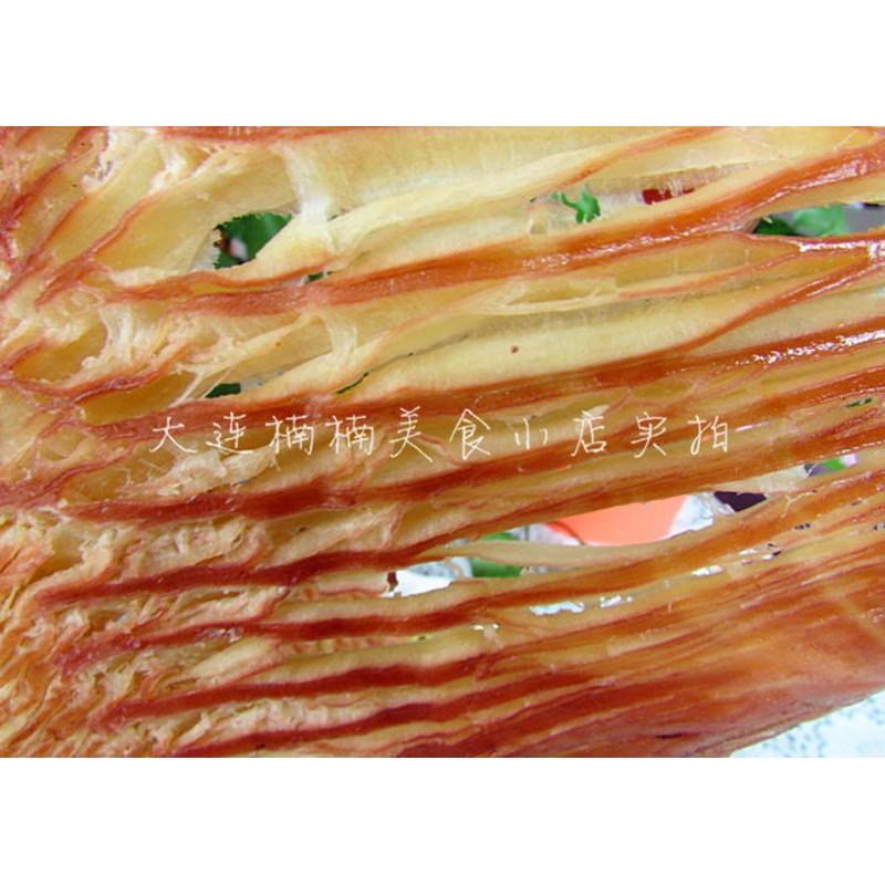 大连特产海鲜鱿鱼丝500g零食原味手撕墨鱼片小吃鱿鱼片条