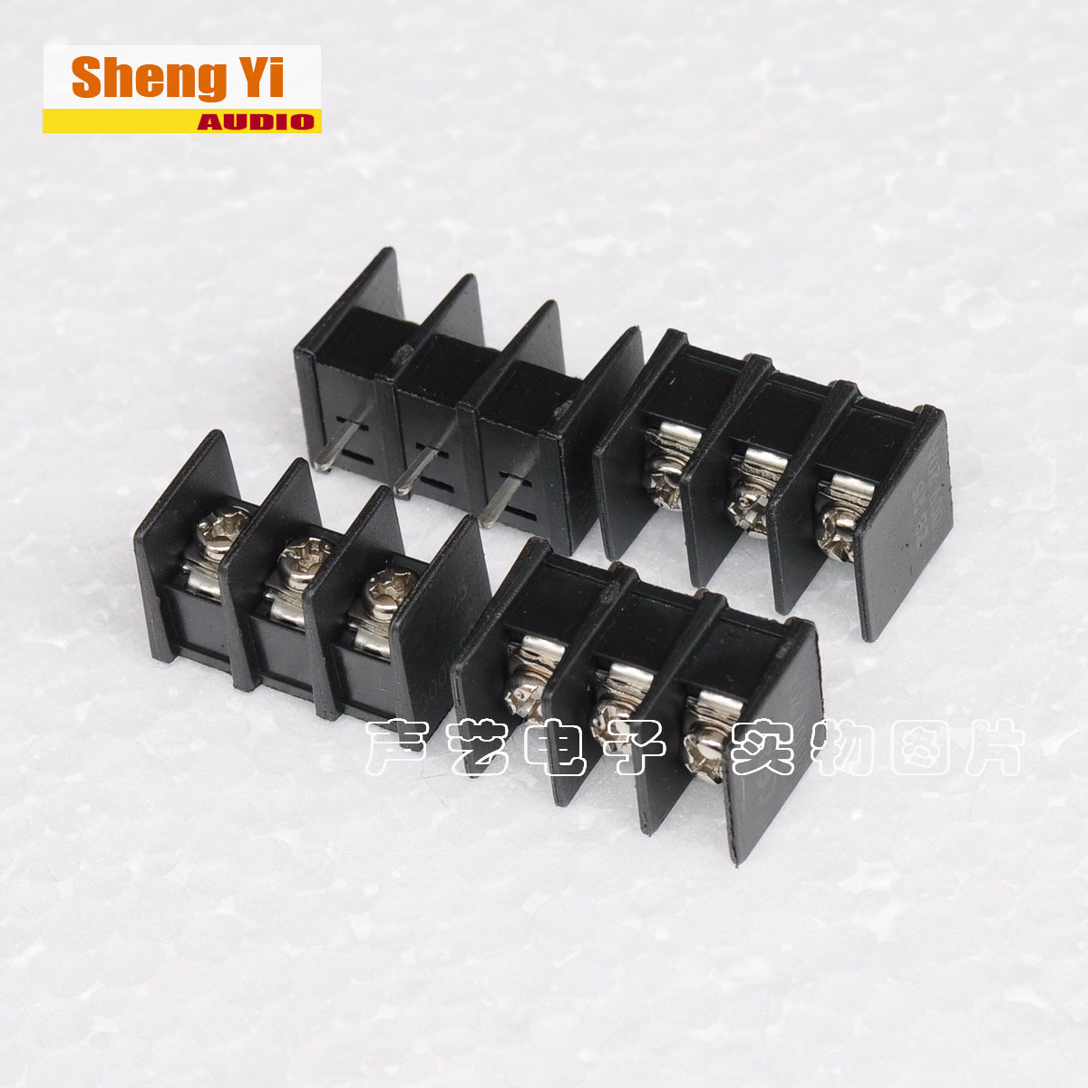 Зажим/клемма Забор нажав на сброс цепи клеммника 3р терминальный тангаж 7.62 mm pin в середине