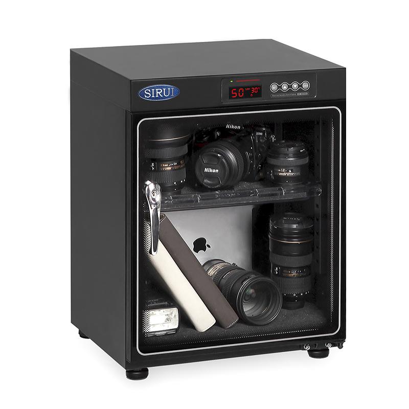 思锐HC 50 电子干燥柜 摄影器材单反相机镜头收纳箱除湿箱 防潮箱