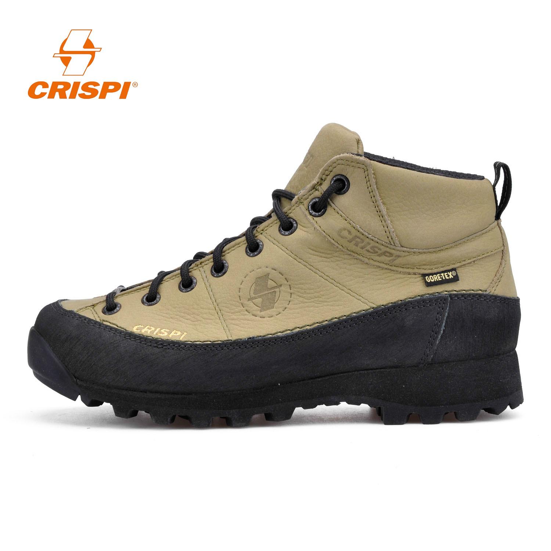CRISPI男女款Monaco鞋户外运动防水耐磨防滑中帮登山徒步鞋GTX
