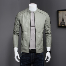 Mens faux leather