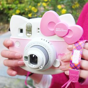 富士一次成像女生迷你mini9 hellokitty儿童拍立得相机七夕节礼物