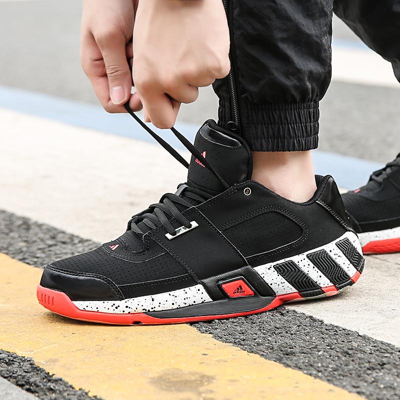 Adidas阿迪达斯  18春 Regulate男子运动休闲篮球鞋CG5278 CQ0553