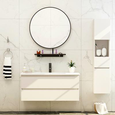 铂雅BOYA浴室柜组合北欧卫浴简约现代卫生间洗漱台洗脸洗手池面盆