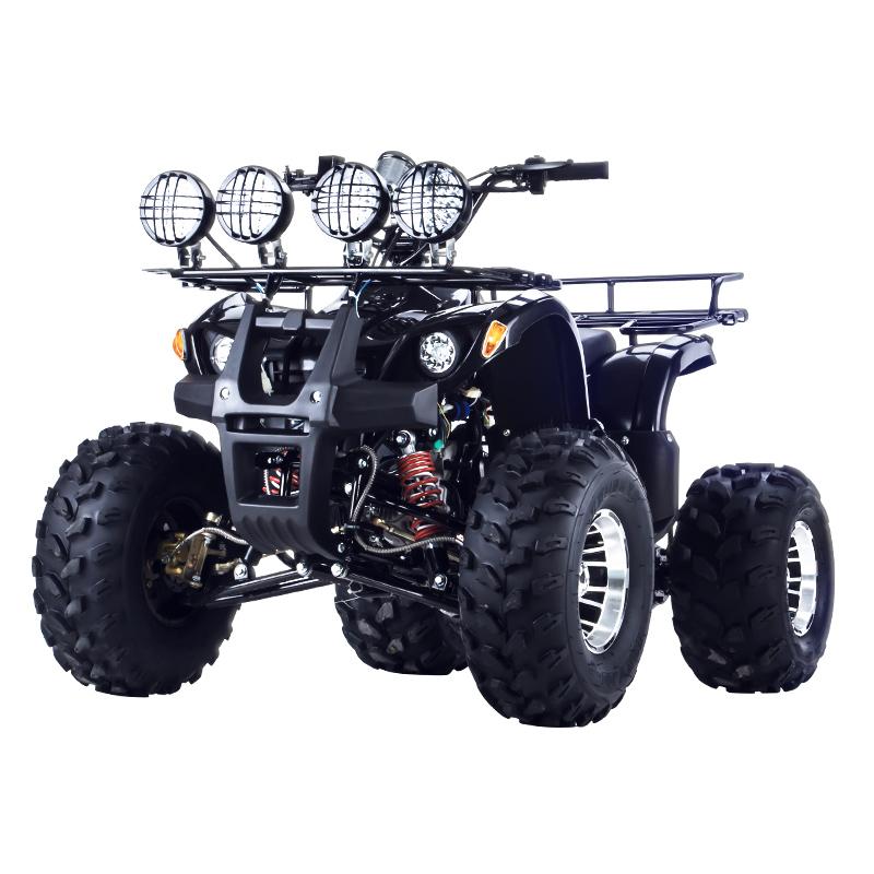小公牛沙滩车四轮越野摩托车成人汽油卡丁车全地形山地车125ccATV