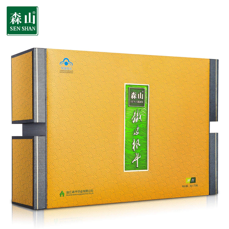 森山牌铁皮枫斗冲剂 3g-包*8包-盒*9盒养生保健品