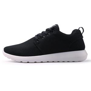 双星运动鞋男2019年新款跑步鞋网面学生春季运动鞋男子黑色休闲鞋