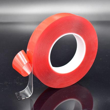 亚克力双面胶VHB透明/灰色超强力防水汽车用1mm厚无痕贴胶带3米