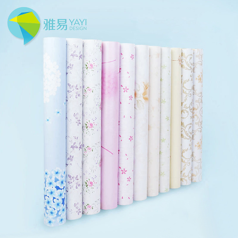 solid color thickened self adhesive pvc wallpaper wallpaper wall stickers waterproof bedroom living room bedroom furniture renovation stickers bedroom furniture sticker style