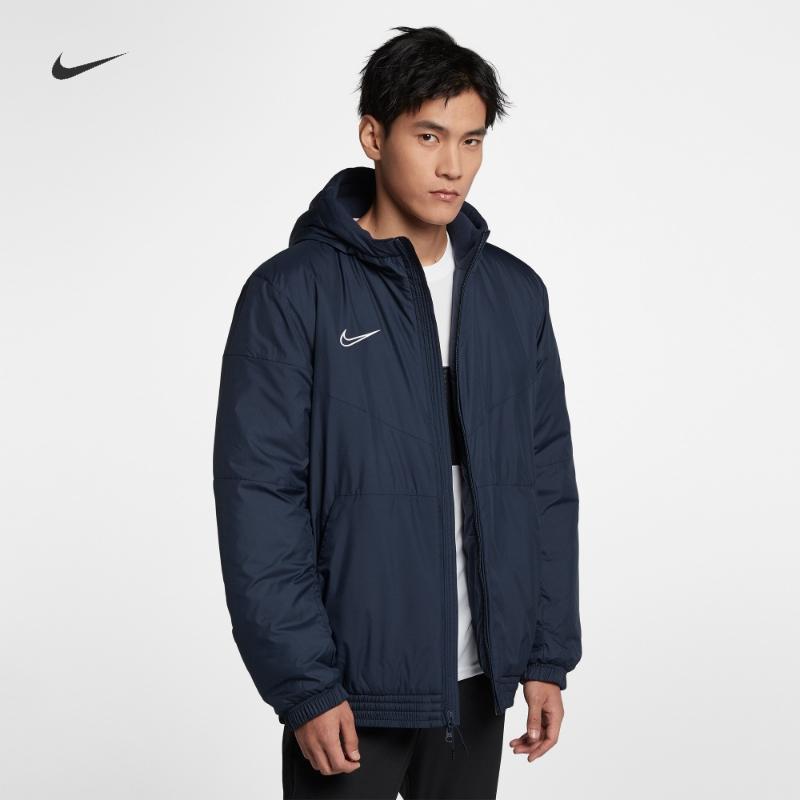 Nike耐克官方NIKE ACADEMY 男子足球夹克棉服外套AO1501