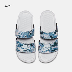 Nike 耐克官方 NIKE BENASSI DUO ULTRA SLIDE 女子拖鞋819717