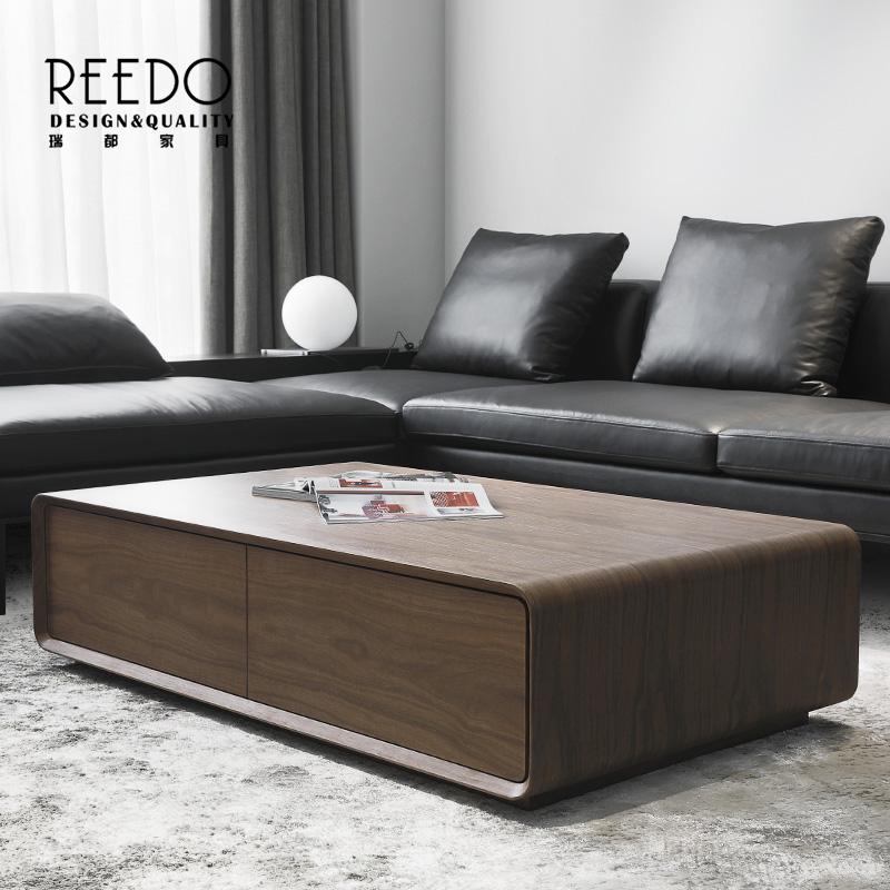 北欧设计师时尚创意茶几电视柜组合简约现代小户型客厅个性家具