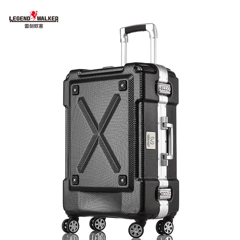 欧客杯架铝框拉杆箱万向轮24寸行李箱托运28寸旅行箱
