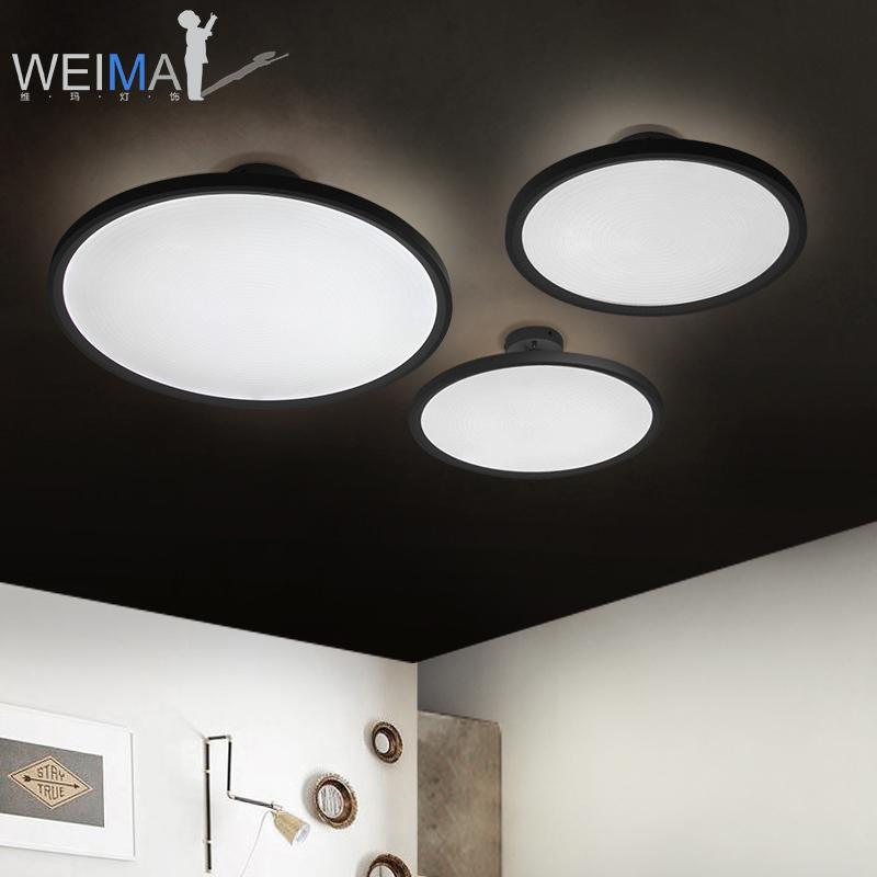 维玛 led吸顶灯创意个性现代简约圆形书房过道餐厅卧室客厅灯具
