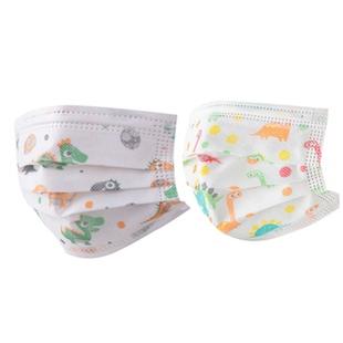 儿童口罩专用小孩女孩一次性女童男孩学生独立包装薄款三层幼儿园