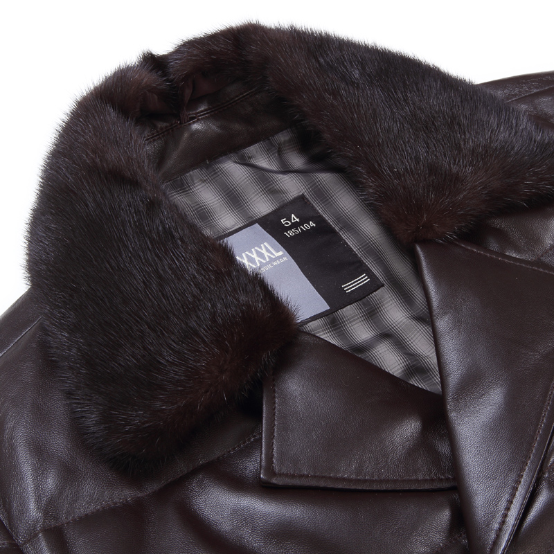 Одежда из кожи Burt Qiaowei 8172