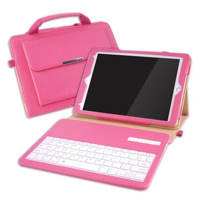 2018新款ipad蓝牙键盘保护套Air2带键盘壳Pro10.5手提皮套pro9.7网红创意手持套ipad苹果平板电脑套子男女款