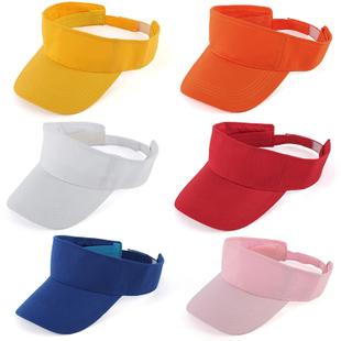 Головной убор Реклама Cap хлопок пустой цилиндр шляпа солнца козырек крышка нет шляпа групп подгонянный Multi-цвет
