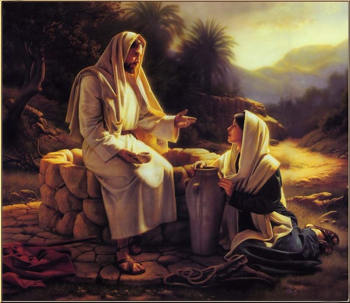 佳彩天颜diy手绘装饰画耶稣救世主