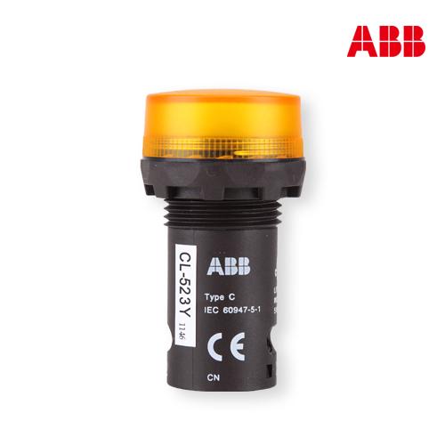 abb按钮指示灯CL-523Y