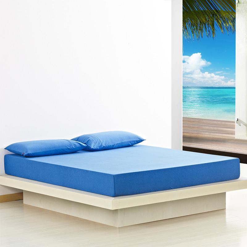 宝鱼跃席梦思床垫色纺纯色床