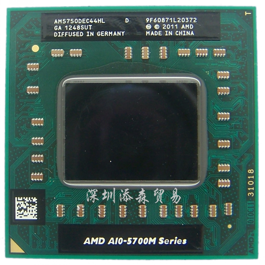 Процессор Amd  A10 5750M AM5750DEC44HL CPU A8 5550M