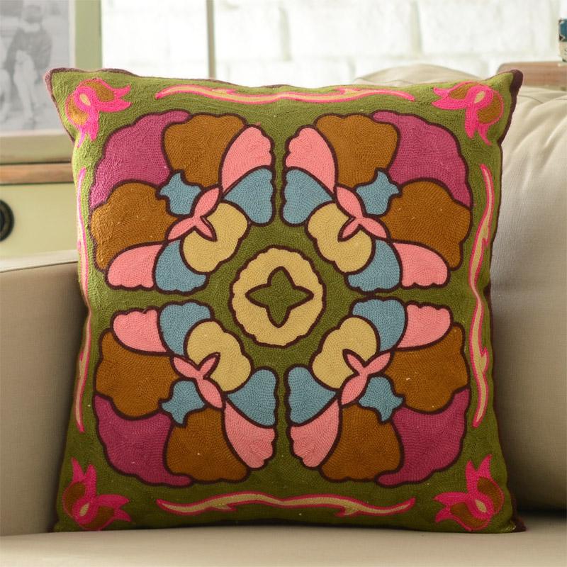 w奇居良品沙发床头靠垫抱枕套BZ0059