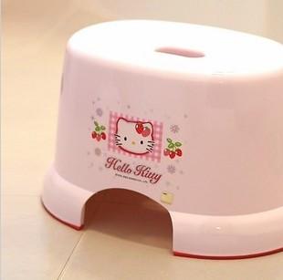 Аксессуар для ванной Корея аутентичные Привет Китти Привет Китти скольжения ванной стул табурет Душ скамьи