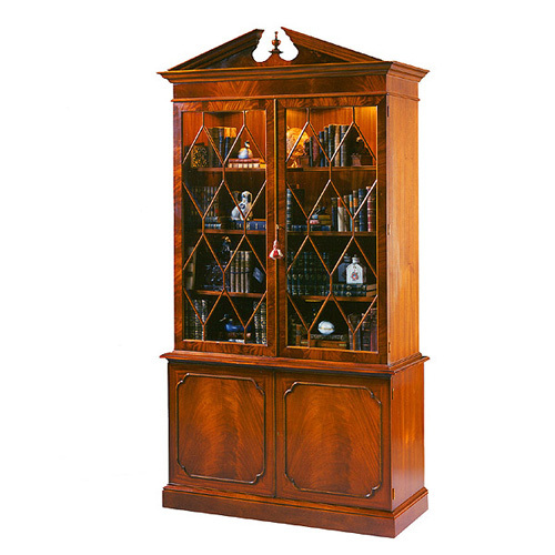 香奢一品家具书房家具实木书柜swh204001
