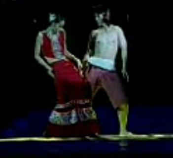 Национальный  костюм Дай два дерева танцевальной одежды Ян Липин этнические костюмы, чтобы принять видеозапись, сделанную на заказ